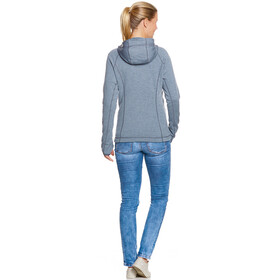 Tatonka Pahl Hooded Jacket Women matt blue